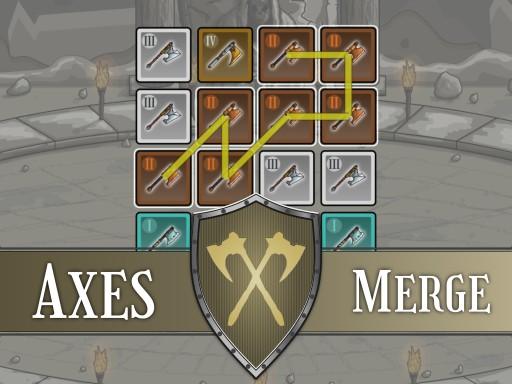Axes Merge Game