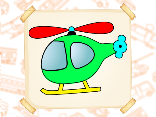 Coloring Book Vehicles Game