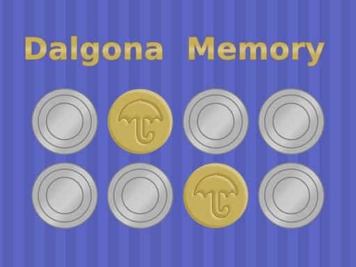 Dalgona Memory Game
