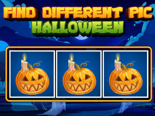 Find Different Pic Halloween Game