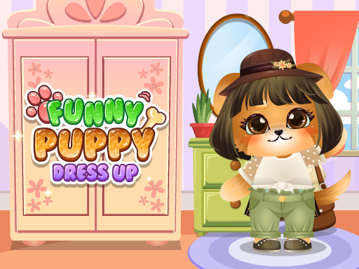 Funny Puppy Dressup Game