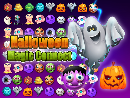 Halloween Magic Connect Game