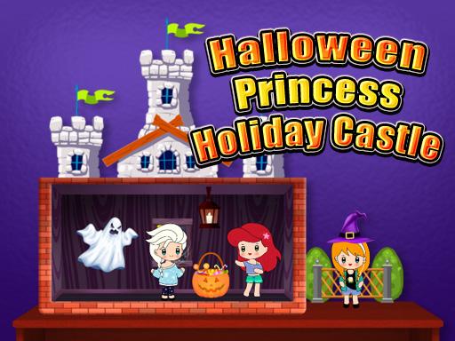 Halloween Princess Holiday Castle Game
