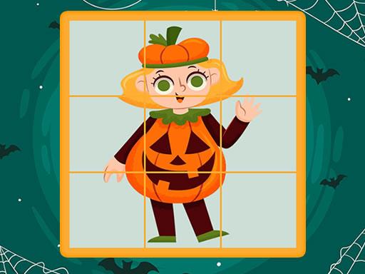 Halloween Puzzles Game