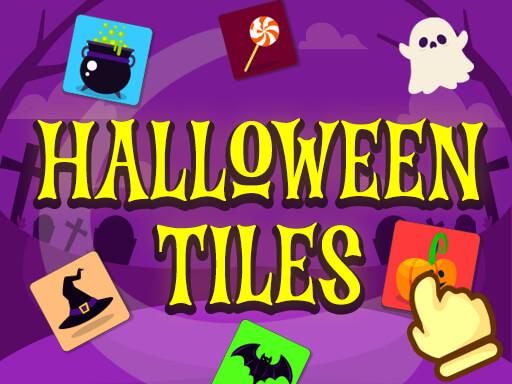 Halloween Tiles Game