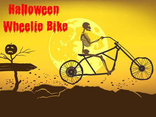 Halloween Wheelie Bike Game
