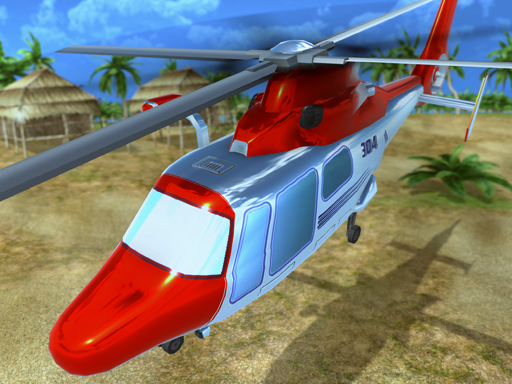 Helicopter Rescue Flying Simulator 3d Game