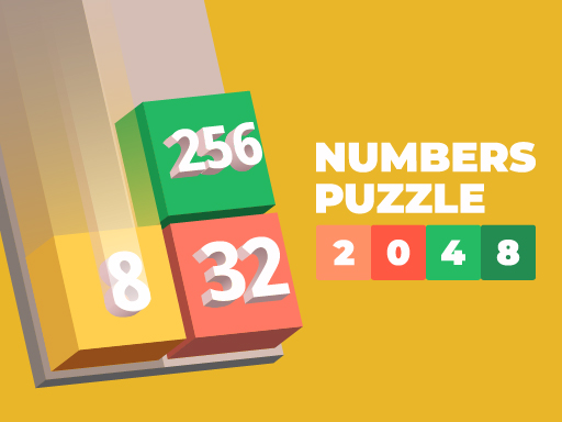 Numbers Puzzle 2048 Game