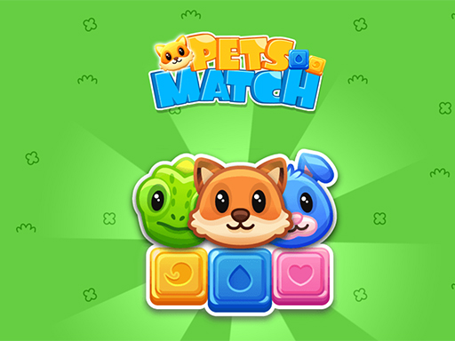 Pets Match Game