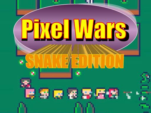 Pixel Wars Snake Edition Game