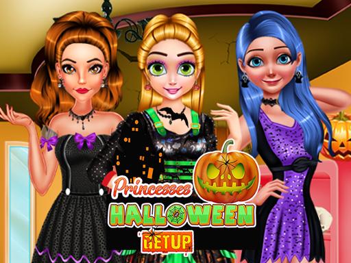 Princesses Halloween Getup Game