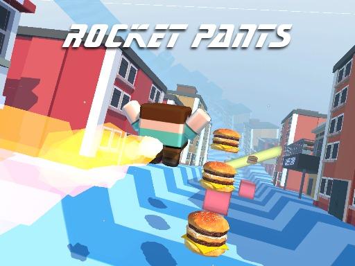 Rocket Pants Runner 3d Game