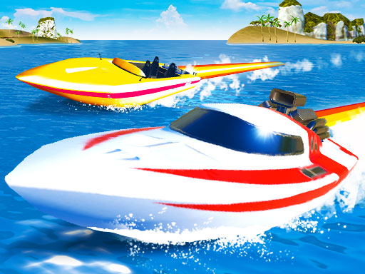 Speed Boat Extreme Racing Game