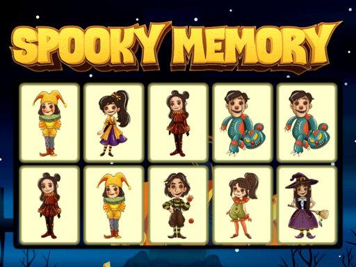 Spooky Memory Game