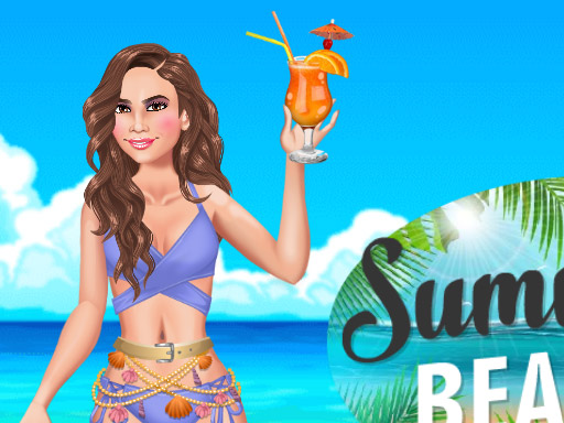 Summer Beach Girl Game