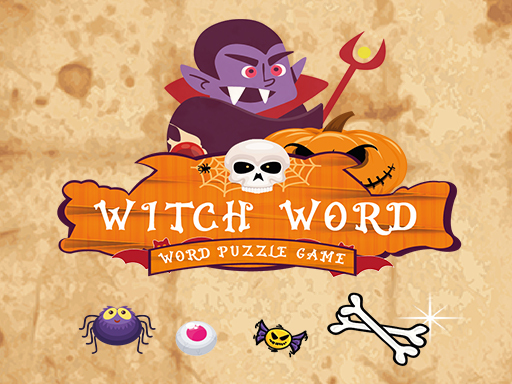 Witch Wordhalloween Puzzel Game Game